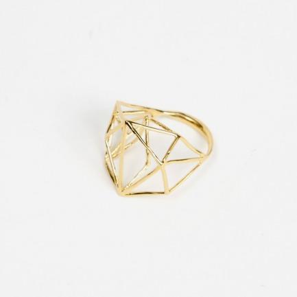 奥斯娜哈尔诺伊OSNATHARNOY当代建筑系列--窄款戒指
