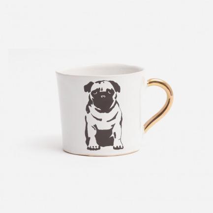 八哥犬大号咖啡杯