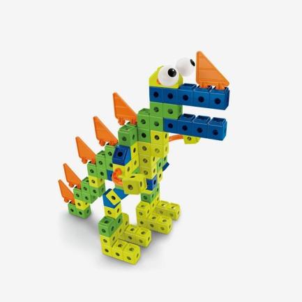 儿童益智恐龙积木玩具.良仓-生活美学