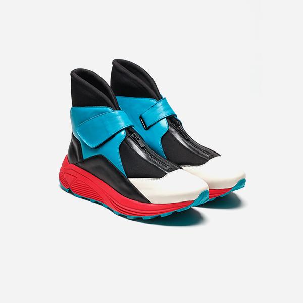 热门商品:KKtP<br> 撞色运动跑步靴