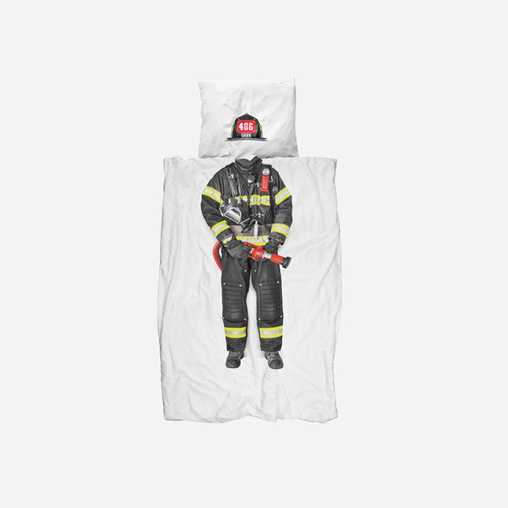 最新到货:梦想床单[SNURK]<br> 消防员 被套+枕套